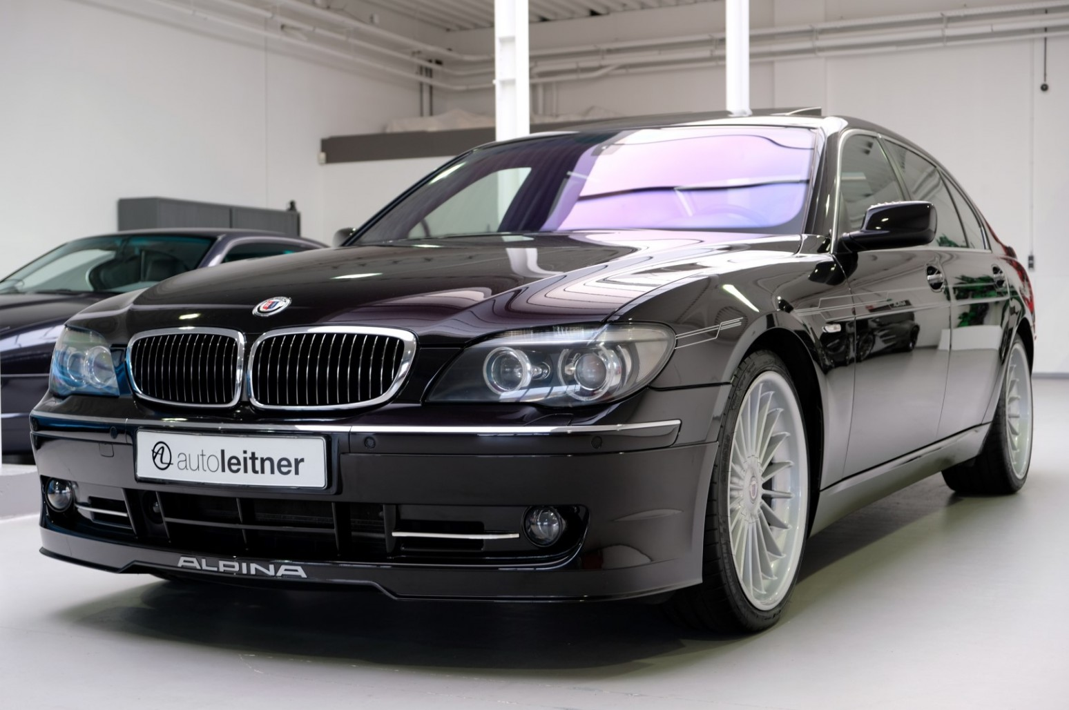 2006 bmw alpina b7 lang supercharged e66 rubinschwarz metallic for sale at auto leitner. Black Bedroom Furniture Sets. Home Design Ideas