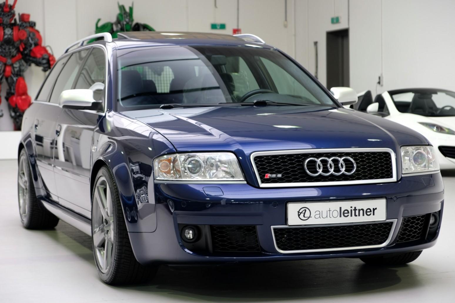 Audi RS6 ako nové: 16 rokov, top stav, nájazd len 2 306 km!